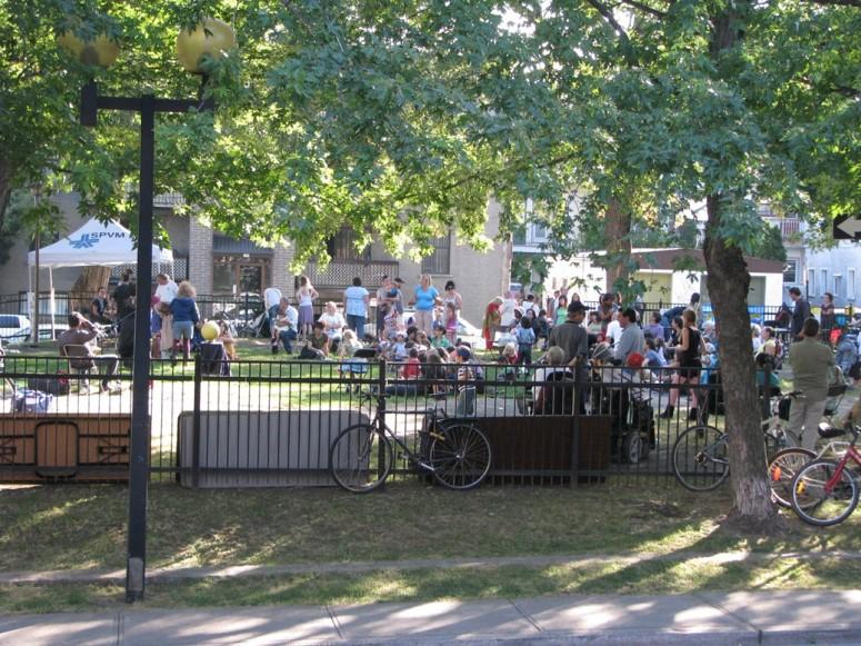 Fête du Parc Médéric-Martin (2009)