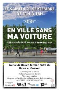 En ville sans ma voiture | Fermeture de la rue de Rouen