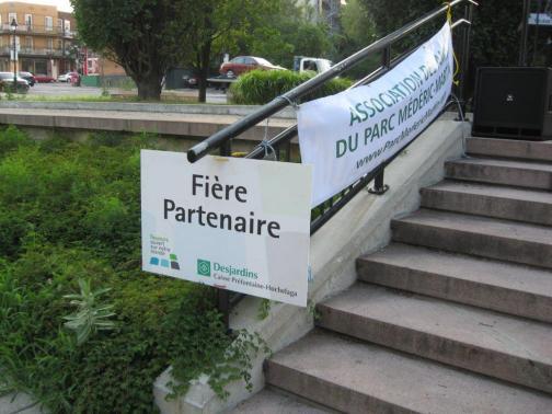 Berbanya au parc Médéric-Martin
