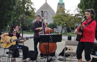 Christine Tassan et son Trio jazz manouche