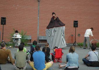 Mobile Home au parc Médéric-Martin | L'étrange cirque de Monsieur Edgar