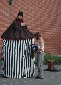 Mobile Home au parc Médéric-Martin   L'étrange cirque de Monsieur Edgar