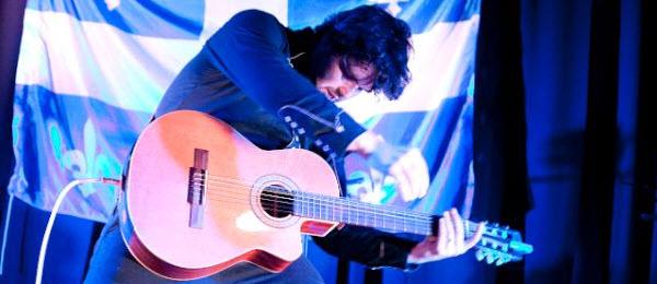 Philippe Proulx, alias Pépé et sa guitare