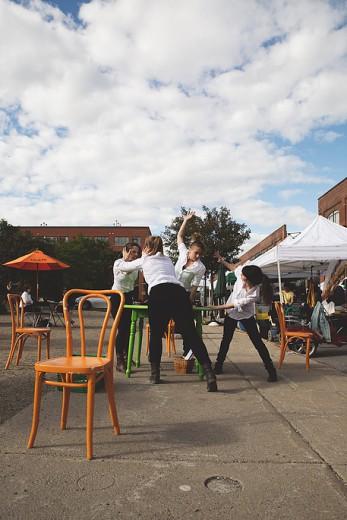 Danse de marché de la compagnie Danse To Go
