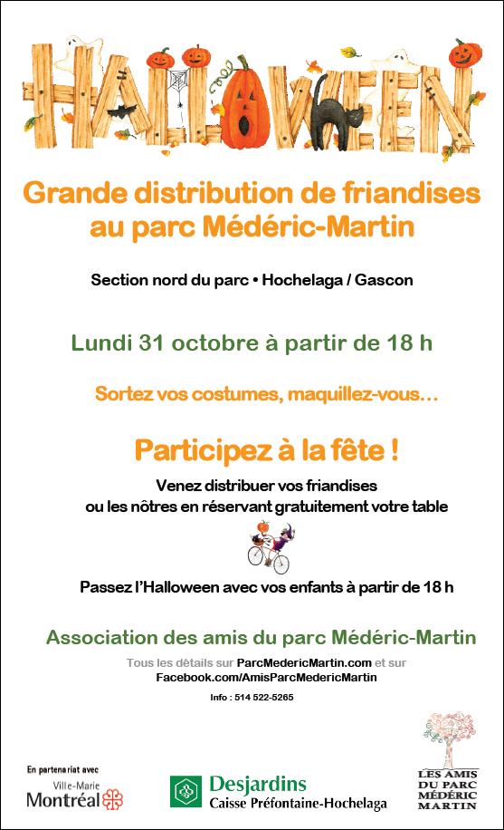 Halloween 2016 au parc Médéric-Martin